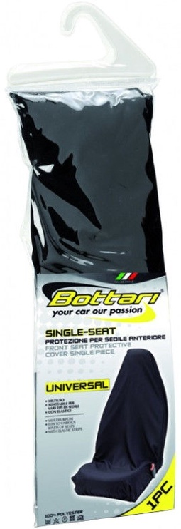 Bottari Single-Seat Front Seat Protective Cover Black