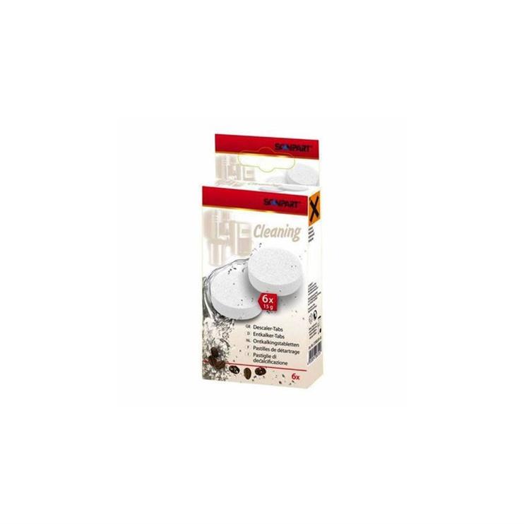 Kavos aparatų valymo tabletės Scanpart