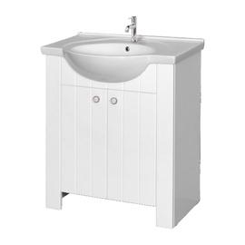 Pastatoma vonios spintelė be praustuvo Riva SA80-10, balta