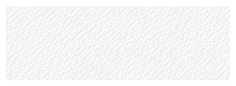 Keraminės sienų plytelės NEON BALTA NELYGI, 90x30 cm