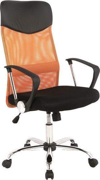 Biroja krēsls Signal Meble Q-025 Orange/Black