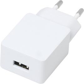 Įkrovklis sieninis 1 USB 2.4A 12W