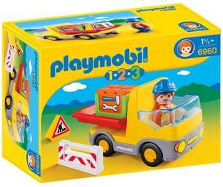 Playmobil 1-2-3 Construction Truck 6960