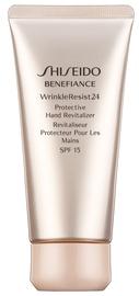 Rankų kremas Shiseido Benefiance WrinkleResist24 Protective Hand Revitalizer SPF15, 75 ml