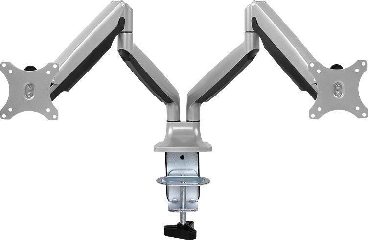 LogiLink Dual Aluminum Monitor Desk Mount BP0043