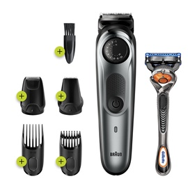 Braun BT7220 Beard Trimmer 7 w/ Precision Dial Grey