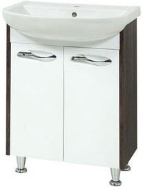 Sanservis Sirius-60 Cabinet with Basin Arteco-60 Vintage 60x84.5x44cm