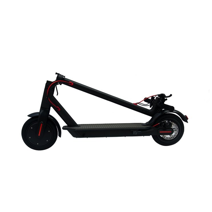 Elektrinis paspirtukas E-Scooter juodas