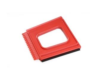 Tom-Par Ice Scraper 10cm Red
