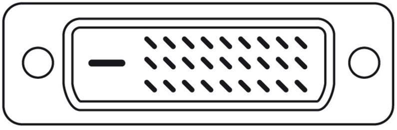 Assmann Adapter Cable Displayport-mini / DVI-D 1m