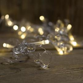 Girlianda, 40 LED, šilta balta, 1.95 m