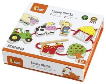 Viga Lacing Blocks Farm 59548