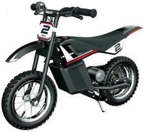 Rotaļlietu bezvadu motocikls Razor MX125, melna/sarkana
