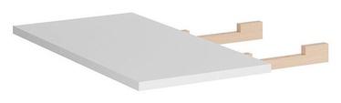 Black Red White Vario Modern Expanding Table 40x90cm White