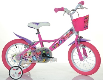 "Bimbo Bike Butterfly 14"" Pink"