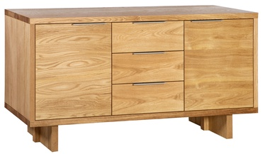 Kumode Home4you Lisbon Lisbon Oak, 180x45x82 cm