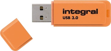 USB atmintinė Integral Neon Orange, USB 3.0, 32 GB
