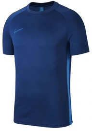 Nike Men's T-shirt Academy SS Top AJ9996 407 Navy Blue L