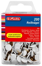 Herlitz Drawing Pin White 08770158