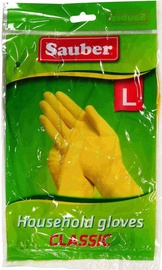 Sauber Rubber Gloves Classic L