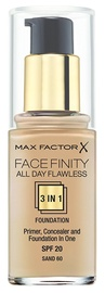 Max Factor Face Finity All Day Flawless 3in1 Foundation 30ml 60