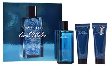 Davidoff Cool Water 125ml EDT + 75ml After Shave Balm + 75ml Shower Gel