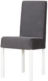 Bodzio KWN Chair with White Legs Graphite W1