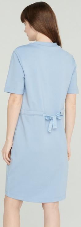 Audimas Stretch Short Sleeves Dress Blue XS