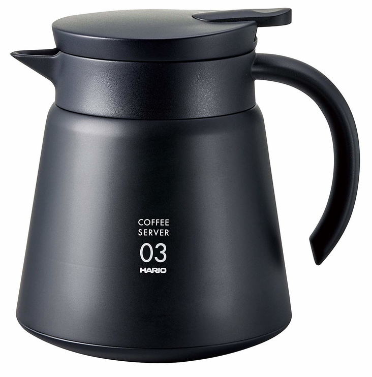 Hario V60 Insulated Stainless Steel Coffe Server 800 Black