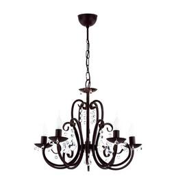 Griestu lampa Alfa 12695 NERO 5x40W E14