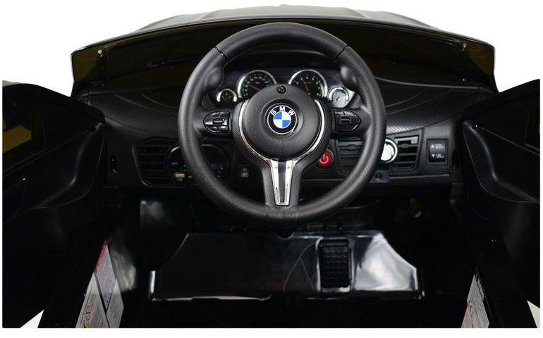 Akumuliatorinė mašina BMW X6M 2199 Black WDJJ2199