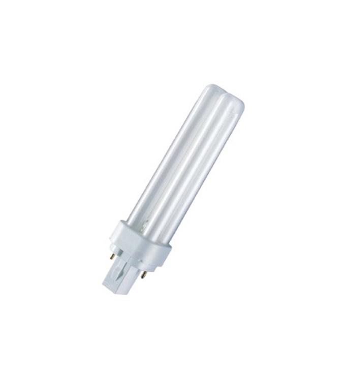 Kompaktinė liuminescencinė lempa GE T4, 7W, G23 (2-pins), 4000K, 425lm