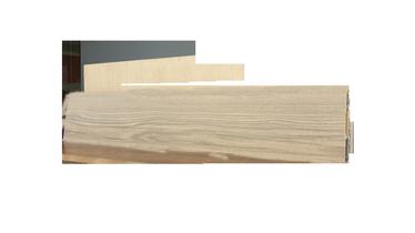 Плинтус SN PVC Skirting Board SG75J9 2200x75x24.5mm Brown Elm