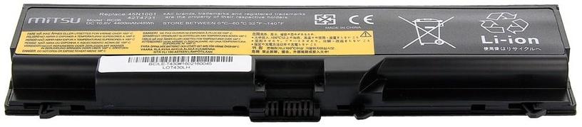 Mitsu Battery For Lenovo Thinkpad T430/T530 4400mAh