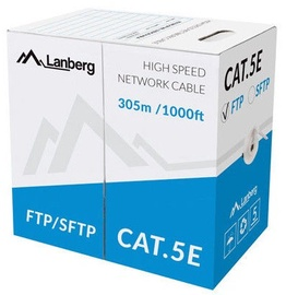 Lanberg Cable FTP CAT 5E CU Grey 305m