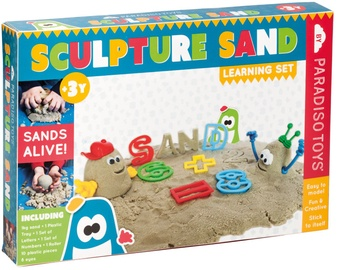 Kinetinis smėlis Paradiso Sculpture Sand Learning Set, 1 kg