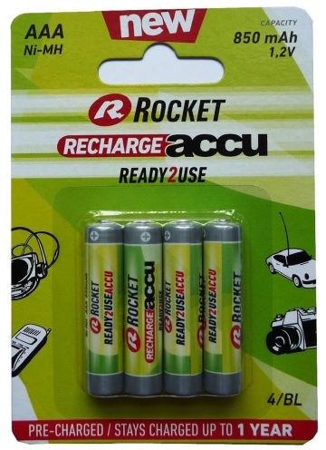 Rocket Recharge Accu HR03 AAA 4pcs