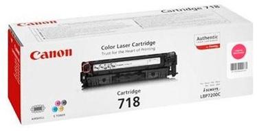 Тонер Canon 718 Toner Magenta