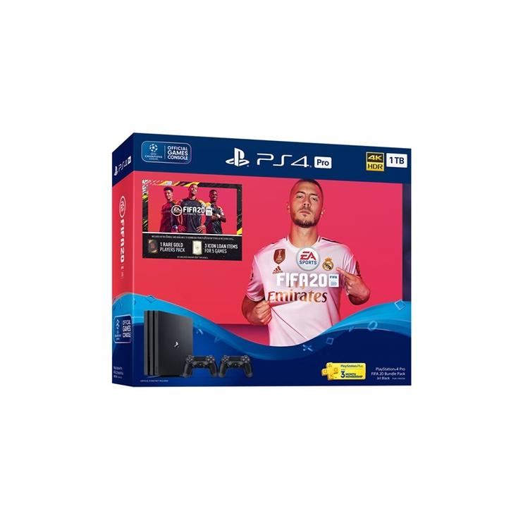 Konsolė Sony PS4 Slim 1tb+Fifa 20+ 2 pulteliai