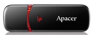 Apacer AH333 64GB Black