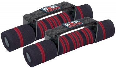Body Sculpture Dumbbells SW314 2x1kg Black/Red