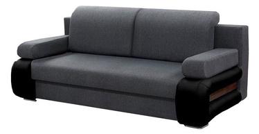 Sofa-lova Idzczak Meble Gloria Black/Grey, 205 x 98 x 80 cm