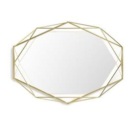 Peegel Umbra Prisma Gold, riputatav, 57x43 cm
