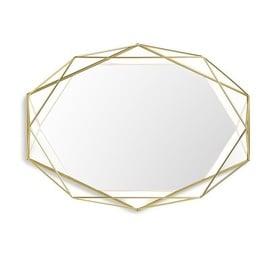 Spogulis Umbra Prisma Gold, stiprināms, 57x43 cm