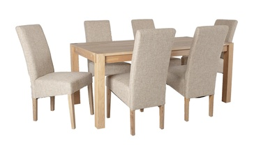 Home4you Chicago/Mondeo Dining Set Beige