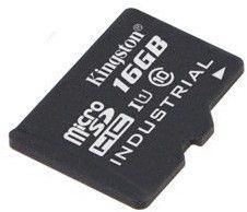 Kingston 16GB microSDHC UHS-I Class 10 Industrial Temperature Card