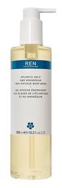 Ren Atlantic Kelp And Magnesium Anti Fatigue Body Wash 300ml