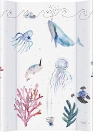 Vystymo lenta Ceba Baby Watercolor World Ocean, 70x50 cm