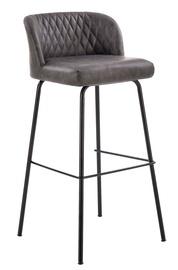 Baro kėdė Halmar H92 Dark Grey