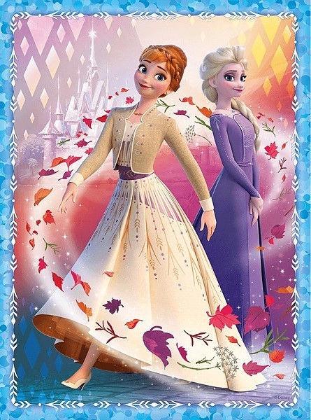 Puzle Trefl Memo & Puzzles Disney Frozen II 90814, 30/48 gab.